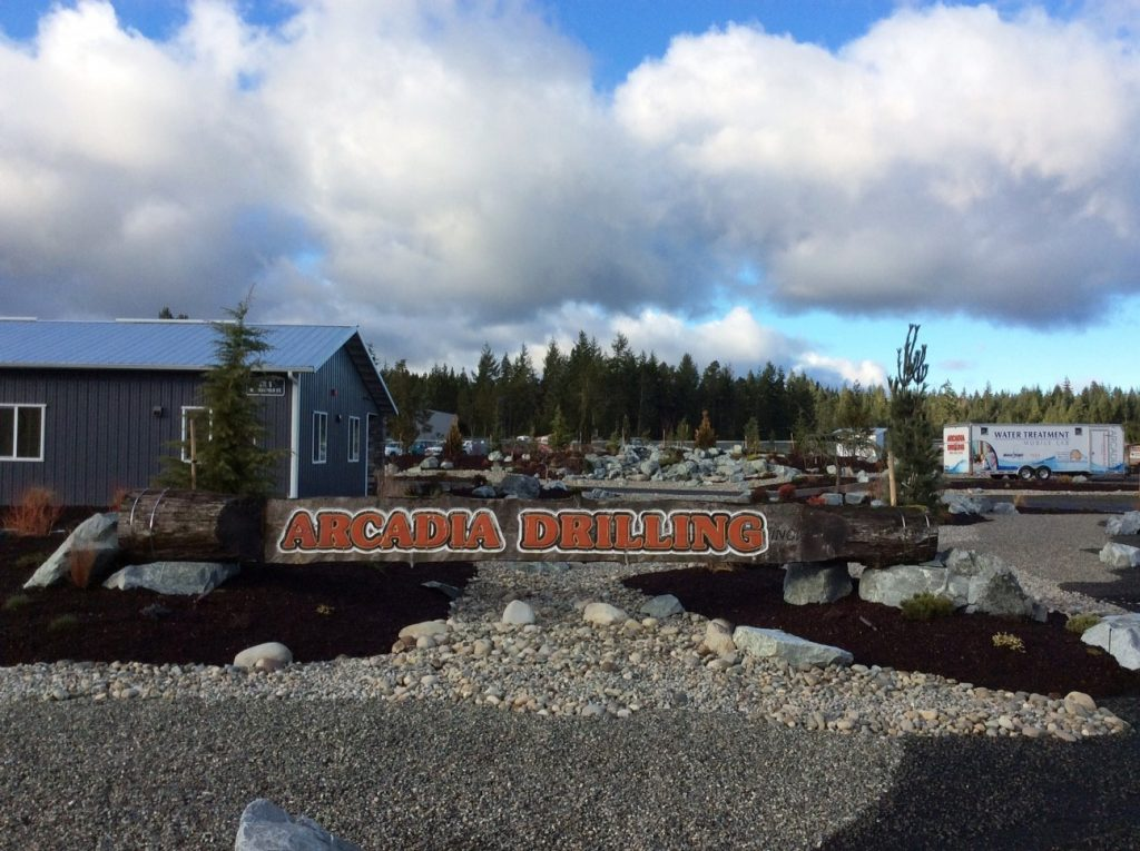Arcadia Drilling Office and Sign