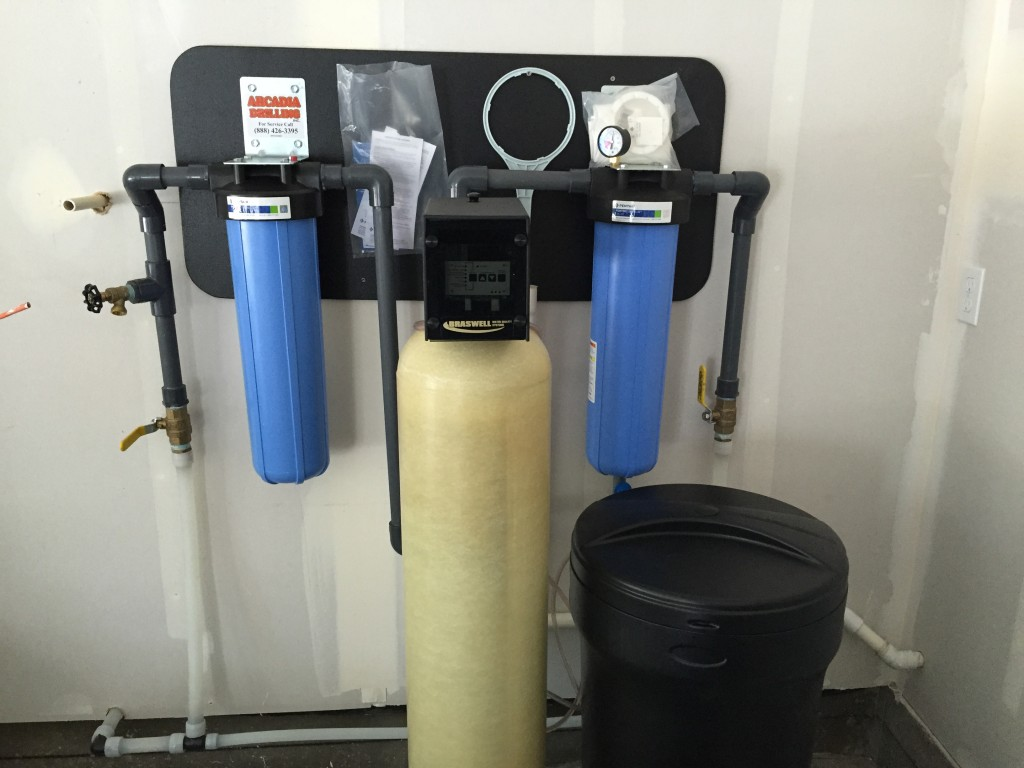 Well Water System With Pressure Tank