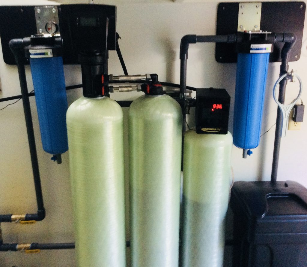 Customer Well Water Filtration System