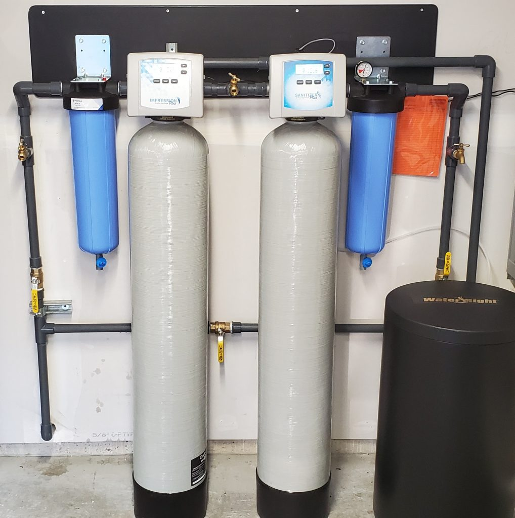 Customer Well Water Filtration Set Up